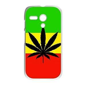 Motorola G Phone Case for Marijuana Leaf grass Classic theme pattern design GMJLGCT875277