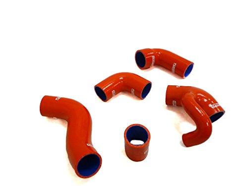 - OBX 96+ Volvo 850 T5/ 850T5R/S70T5/V70T5 OBX Silicone hose kit with Diverter (blowoff) inlet Red