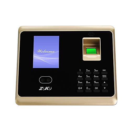 Docooler ZK-TA50 Attendance Machine Face Fingerprint Recognition Access Control System Password Time Clock Attendance Machine