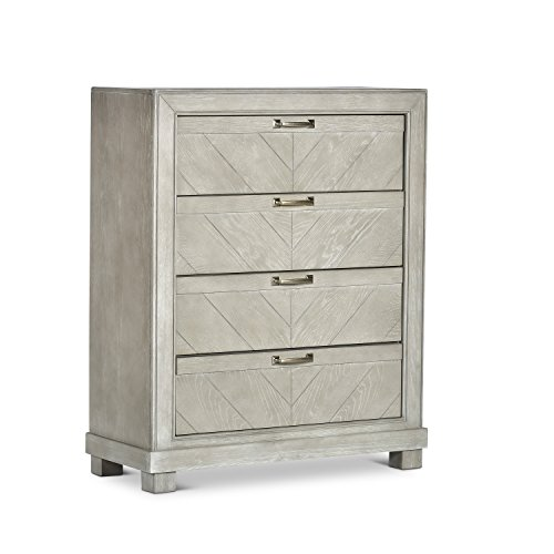 Steve Silver Montana 4 Drawer Chest in Weathered Grey Finish RE137-133G ()