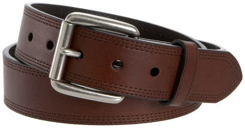 - Ariat Men's Triple Stitch Belt,Dark Copper,46