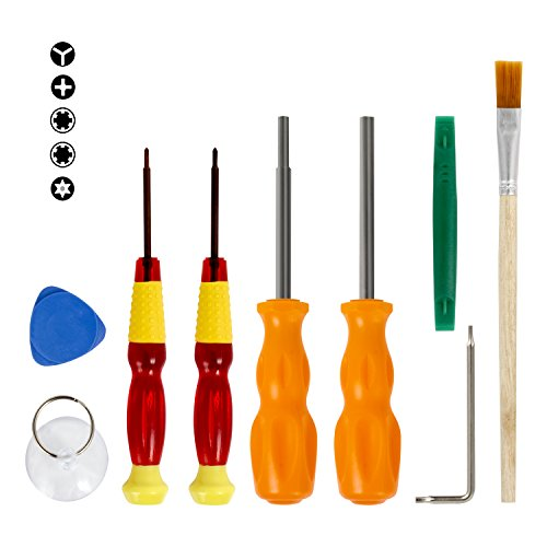 Nintendo Triwing Screwdriver, Keten Professional Full Triwing Screwdriver Repair Tool Kit for Nintendo Switch and Nintendo Wii /DS /DS Lite /GBA/Gamecube and more, Security Screw Driver Game Bit Set - Games Screwdriver Set