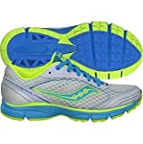 Saucony Women's Grid Outduel Running Shoe,White/Blue/Citron,5 M US For Sale