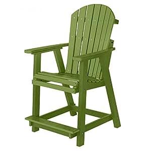 Berlin Gardens Elite Comfo-Back Counter Chair - Kiwi Green