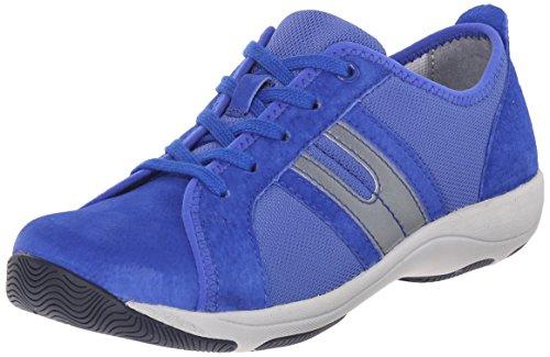 Dansko Womens Heidi Fashion Sneaker In Camoscio Cobalto
