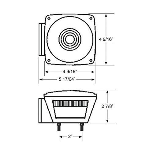028845003116 - Blazer C6423 Square Trailer Light Kit - Red carousel main 7