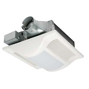 Panasonic fv 10vsl2 100 cfm 1 5 sone whispervalue lite bath fan vanity lighting fixtures for Panasonic bathroom fans with light