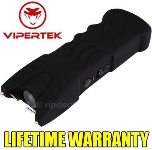VIPERTEK VTS-979 – Rechargeable Police Stun Gun LED Wholesale Lot Taser Case