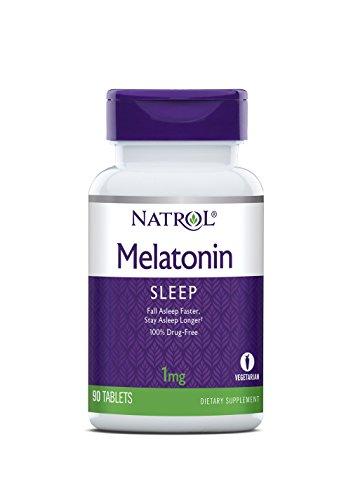 - Natrol Melatonin 1mg, 90 Tablets (Pack of 6)
