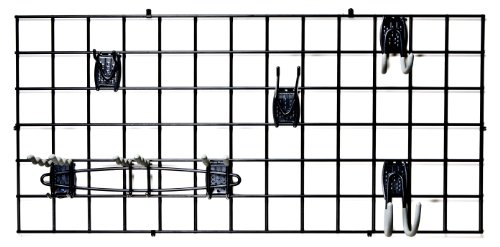Organized Living Activity Organizer Wire Grid, 48-inch x 24-inch (Hooks Grid Wire)