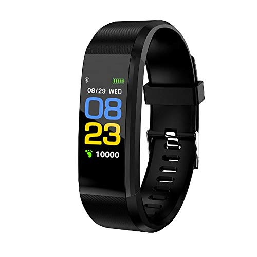 GO-FIT Smart Fitness Tracker Watch – Heart Rate Blood Pressure Sleep Monitor with, Calorie Counter Pedometer Watch for…