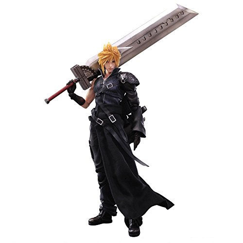 "Square Enix Play Arts Kai Cloud Strife ""Final Fantasy VII: Advent Children"" Action Figure"