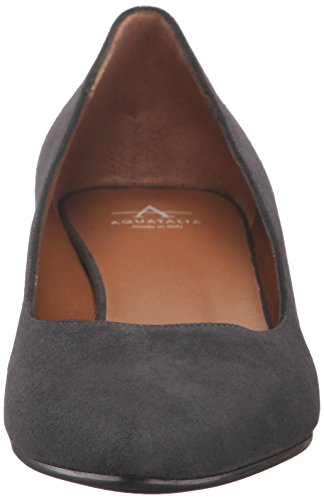 Aquatalia Womens Pheobe Suede Pump Antracite