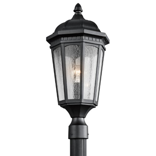 Kichler Lighting 9532BKT Courtyard Textured