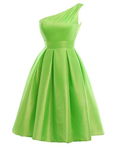 Bridal_Mall - Vestido - para mujer fuorescent green