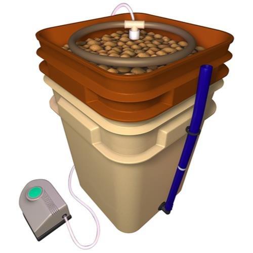 General Hydroponics Waterfarm Complete Hydroponic System Grow Kit | GH4120 by General Hydroponics
