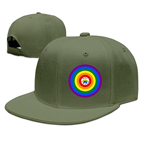 MaNeg Homosexual Unisex Fashion Cool Adjustable Snapback Baseball Cap Hat One Size - Del Orlando Mar Costa