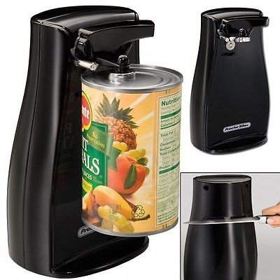 Extra Tall Electric Can Opener Durable Power Knife Sharpener Black Proctor-Silex by KITCHEN TOOLS (Image #1)