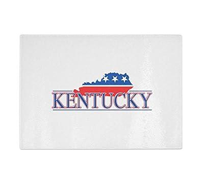 Kentucky Kitchen Bar Glass Cutting Board