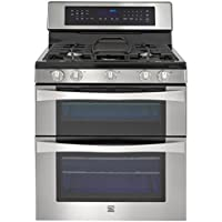 Kenmore Elite 76033 6.1 cu. ft. Self Clean Double Oven in Stainless Steel, includes delivery and hookup (Available in select cities only)