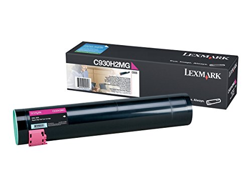 Lexmark LEXC930H2MG High Yield Magenta Toner Cartridge by Lexmark