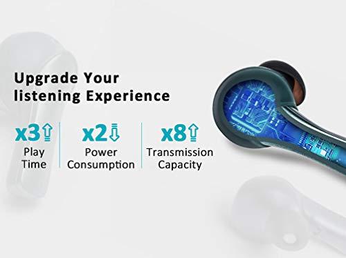 Padmate Pamu Slide Schwarz; Bluetooth 5.0, TWS Earbuds mit Mikrofon, Apple iOS & Android, Indiegogo Bestseller, kabellose Stereo-Kopfhörer für´s Laufen, Fitness & Sport, inkl. Ladeschale, IPX6
