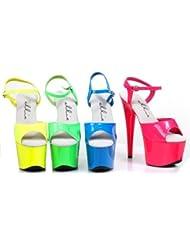 Ellie Shoes Womens 709-SOLARIS Yellow Sandals 7 B(M) US