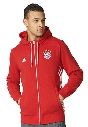 adidas Men's FC Bayern Munich Zippered Hoody – DiZiSports Store