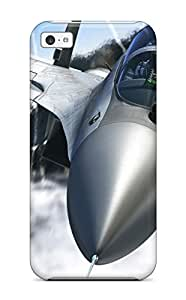 LJF phone case New iphone 4/4s Case Cover Casing(jet Fighter Flying)