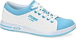 Storm Meadow Bowling Shoes, White/Blue, 8.5