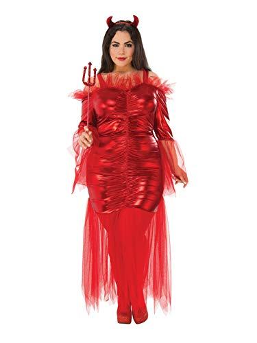 Rubie's Women's Plus Size Red Devil, One