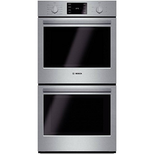 Bosch HBN5651UC 500 27″ Stainless Steel Electric Double Wall Oven – Convection