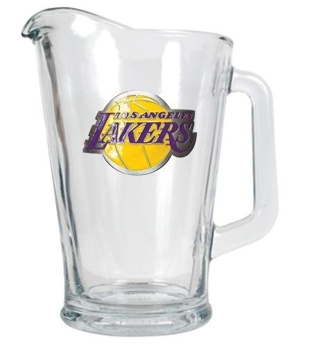 NBA Los Angeles Lakers 60-Ounce Glass Pitcher - Primary Logo