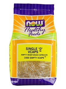 Non Gelatin (NOW Foods Vegetable Size 0 Non-Gelatin 1000 Vcaps)