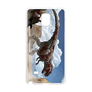 Creative Dinosaur Custom Protective Hard Phone Cae For Samsung Galaxy Note4