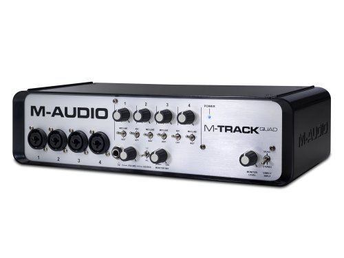 M-Audio M-Track Quad | Four-Channel Audio + MIDI USB Interfa