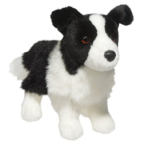 Douglas Zippy Border Collie (Border Collie Plush)