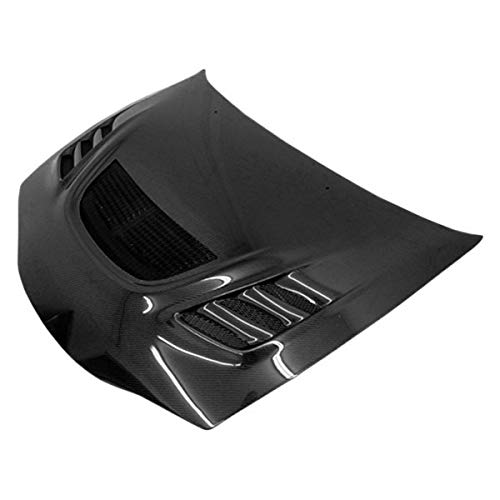 VIS Racing (VIS-SUL-512) G Speed Style Hood Carbon Fiber - Compatible for Mitsubishi Eclipse 1995-1999 (1995 1996 1997 1998 1999 | 95 96 97 98 99) (Vis G-speed Carbon Fiber Hood)
