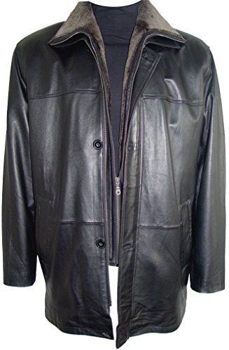 Johnny 2001 Big Man Leather Jacket Business Clothing Coat Tall and All Size by Johnnyblue (Image #7)