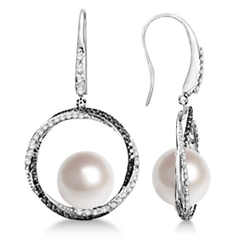 white-and-black-diamond-paspaley-cultured-south-sea-pearl-earrings-11mm