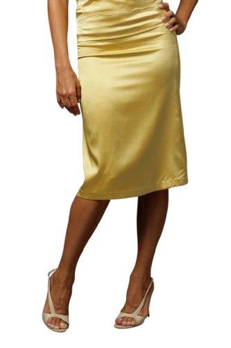 Kelly Nishimoto Neat Pleat Skirt Yellow 6