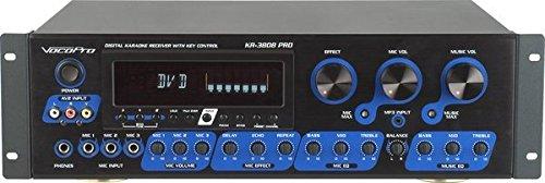 VocoPro Receiver with Key Control, 21.00 x 21.00 x 23.00 (KR3808PRO) (Karaoke Mixer Key Control)