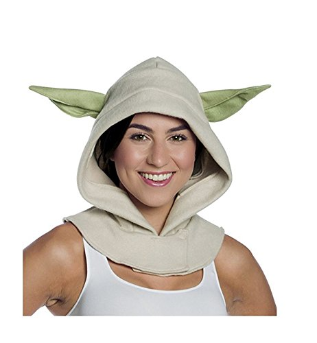 Adult Yoda Mask - 33925 Adult Yoda Hood Star Wars