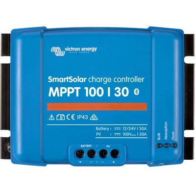 SmartSolar MPPT 100/30 Charge Controller by Victron Energy