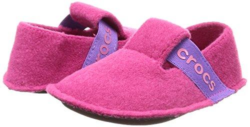 Crocs Unisex-Kids Classic K Slipper, Candy Pink, 12 M US Little Kid by Crocs (Image #5)