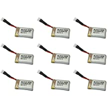 9 x Quantity of JJRC 1000 2.4GHz 3.7v 240mAh Lipo Battery Rechargeable Power Pack