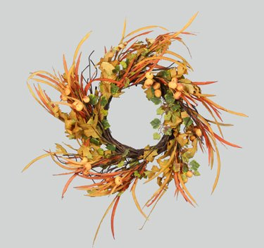 Heart of America Fall Floral Wreath