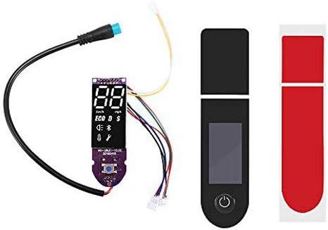 AEUWIER Tablero de scooter eléctrico, Xiaomi M365 / Xiaomi M365 Pro Reemplazo de cubierta de circuito impreso con placa base PCA