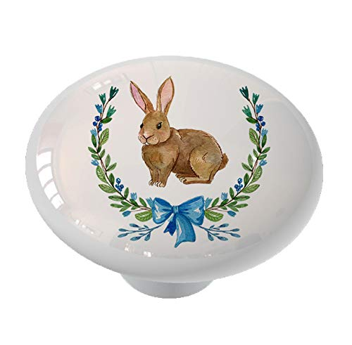 Country Rabbit Drawer/Cabinet Knob by Gotham Decor