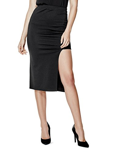 G-by-GUESS-Womens-Savante-Asymmetrical-Midi-Skirt